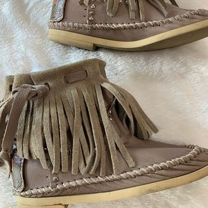 Hector Fridge ankle boots/moccasins